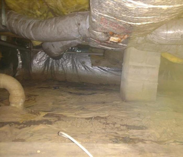 Sump Pump & Drain Tile Before