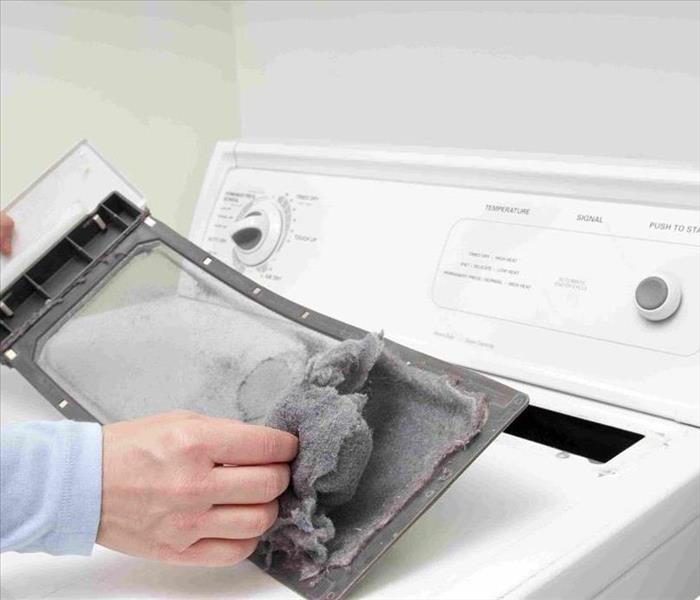 Fire Damage Clothes Dryer Safety