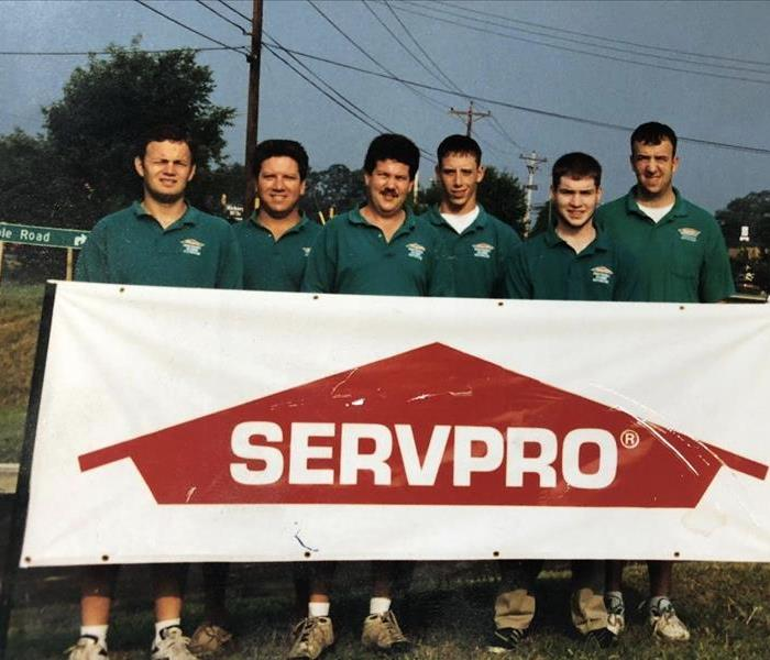 Why SERVPRO Flash Back Friday