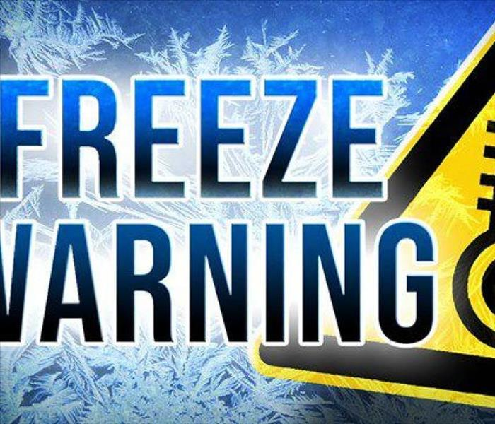 NWS freeze warning sign